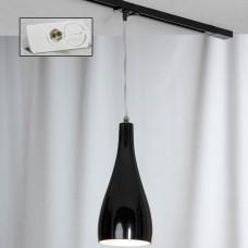 Светильник для шинопровода Lussole LSF-1196-01-TAW Rimini хром E27 60 Вт