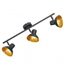 Спот Lussole LSP-9975 (GRLSP-9975) Louisville черный/оранжевый E14 40 Вт
