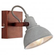 Спот лофт Lussole LOFT LSP-9828 (GRLSP-9828) Durango медный E14 40 Вт