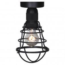 Светильник лофт потолочныйLussole LOFT LSP-9875c Baldwin черный E27 60 Вт
