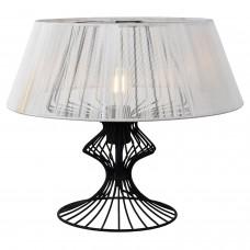 Настольная лампа Lussole LSP-0528 (GRLSP-0528) Cameron черный E27 60 Вт
