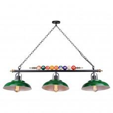 Светильник для бильярдного стола Lussole LSP-9542 (GRLSP-9542) Badger черный/бронзовый E27 60 Вт