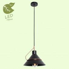 Подвесной светильник LGO LSP-8265 (GRLSP-8265) Bossier черный/медный E27 60 Вт