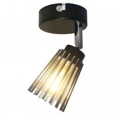 Спот LGO LSP-9900 (GRLSP-9900) Avondale черный/хром G9 40 Вт