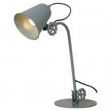 Настольная лампа лофт Lussole LOFT LSP-9570 (GRLSP-9570) Kalifornsky синий E14 40 Вт