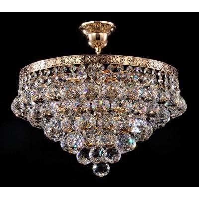Хрустальная люстра Maytoni DIA783-CL38-6-G Diamant Crystal золото антик