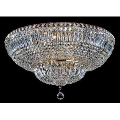 Хрустальная люстра Maytoni DIA100-CL-16-G золото антик