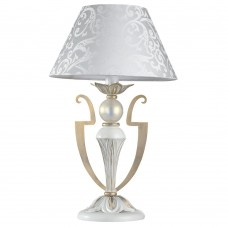 Настольная лампа Maytoni Monile ARM004-11-W белое золото