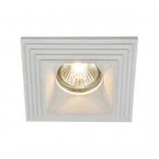 Гипсовый светильник Maytoni Gyps DL005-1-01-W белый