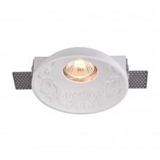 Гипсовый светильник Maytoni Gyps DL278-1-01-W белый под шпаклевку