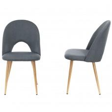 Комплект из 2-х стульев Cleo сине-серый