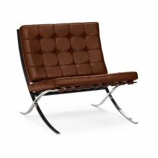 Кресло BARCELONA CHAIR коньячный