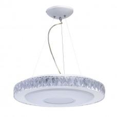 Подвесной светодиодный светильник Mw-light 687010601 Фризанте 1*30W LED 220V с пультом