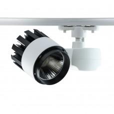 Трековый светодиодный светильник Chiaro 550010901 1*30W LED 220 V белый 3000K