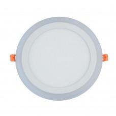 Встраиваемый светодиодный светильник Chiaro 660013001 Норден 18W+6W LED 220 V белый