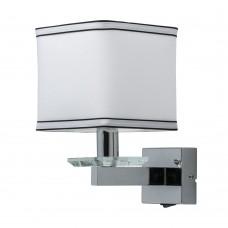 Бра Chiaro 686020401 Наполи 1*40W E14 220 V хром с выключателем