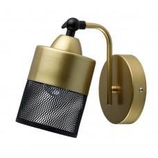 Бра De City 220021801 Вита 1*60W E27 LED 220 V перламутровое золото, черный