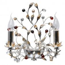 Бра Chiaro 298023102 Виола 2*40W E14 220 V сусальное серебро, сусальное золото