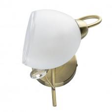 Бра MW-Light 372023901 Моника 1*40W E14 220 V античная латунь
