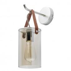 Бра De Markt 673025001 Тетро 1/40W E27 220 V перламутровое серебро