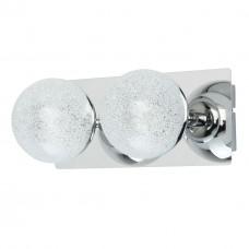 Бра светодиодное De Markt 707020302 Каспер 2*5W LED 220 V хром