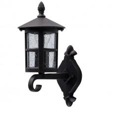 Уличный настенный светильник De Markt 806020801 Телаур 1*60W E27 220 V IP44 коричневый