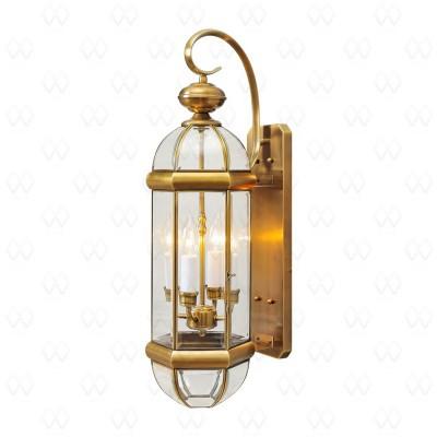 Уличный настенный светильник Mw-light 802020504 Мидос