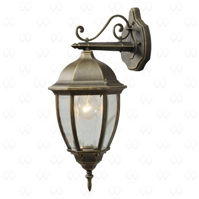 Уличный настенный светильник Mw-light 804020201 Фабур