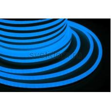 Гибкий неон светодиодный, постоянное свечение, синий, 220V, бухта 50м, Neon-Night 131-013