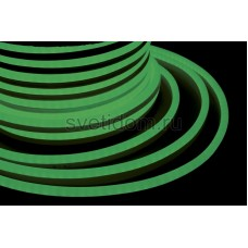 Гибкий неон светодиодный, постоянное свечение, зеленый, 220V, бухта 50м, Neon-Night 131-014