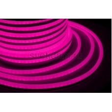 Гибкий неон светодиодный, постоянное свечение, розовый, 220V, бухта 50м, Neon-Night 131-017