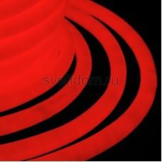 Гибкий неон светодиодный 360, постоянное свечение, красный, 220V, бухта 50м, Neon-Night 131-032