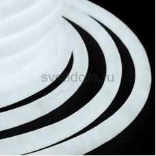 Гибкий неон светодиодный 360, постоянное свечение, белый, 220V, бухта 50м, Neon-Night 131-035