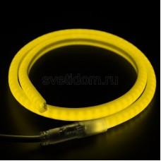 Гибкий Неон LED SMD, форма - D, жёлтый, 120 LED/м, бухта 100м, Neon-Night 131-071