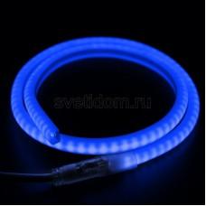 Гибкий Неон LED SMD, форма - D, синий, 120 LED/м, бухта 100м, Neon-Night 131-073