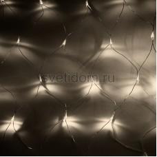 "Гирлянда ""Сеть"" 1,5х1,5м, прозрачный провод, 150 LED, теплый белый, Neon-Night 215-126"