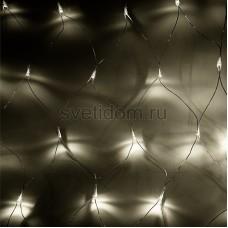 """Гирлянда """"Сеть"""" 2x1,5м, черный провод, 288 LED, теплый белый, Neon-Night 217-116"""