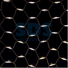 "Гирлянда ""Сеть"" 2x3м, белый провод, 432 LED, белый, Neon-Night 217-145"