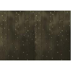 """Гирлянда """"Светодиодный Дождь"""" 2x0,8м, прозрачный провод, 230V, теплый белый, 160 LED, Neon-Night 235-106"""