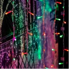 """Гирлянда """"Светодиодный Дождь"""" 2*2м, свечение с динамикой, прозрачный провод, 220V, RGB, Neon-Night 235-349"""
