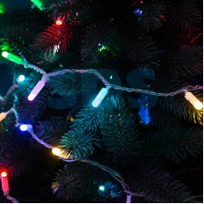 Гирлянда Нить 10м, 100 LED, RGB, свечение в динамике (при использовании контроллера), 230V, Neon-Night 245-409