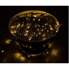"Гирлянда ""Твинкл Лайт"" 10 м, черный провод, 100 LED, желтый, Neon-Night 303-131"