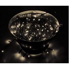 "Гирлянда ""Твинкл Лайт"" 10 м, черный провод, 100 LED, теплый белый, Neon-Night 303-136"