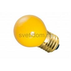 Лампа накаливания Е27 10 Вт желтый колба, Neon-Night 401-111