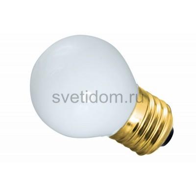 Лампа накаливания Е27 10 Вт белая колба, Neon-Night 401-115
