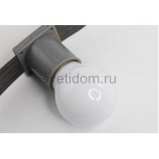 Лампа шар Е27 3 LED d45мм - теплый белый, Neon-Night 405-116