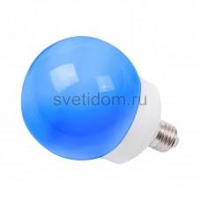 Лампа шар Е27 12 LED d100мм синий, Neon-Night 405-133