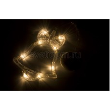 """Фигура светодиодная """"Колокольчик"""" на присоске с подвесом, теплый белый, Neon-Night 501-012"""