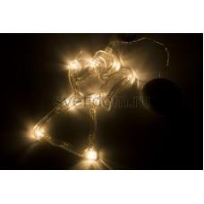 """Фигура светодиодная """"Ангелок"""" на присоске с подвесом, теплый белый, Neon-Night 501-015"""