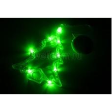 """Фигура светодиодная """"Елочка"""" на присоске с подвесом, зеленый, Neon-Night 501-017"""